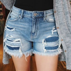 Run Away With You High Rise Jean Shorts